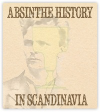 Absinthe history in Scandinavia