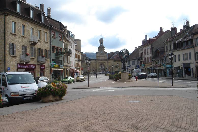 Pontarlier France  City new picture : ... born 9 march 1977 in pontarlier doubs is a former french biathlete he